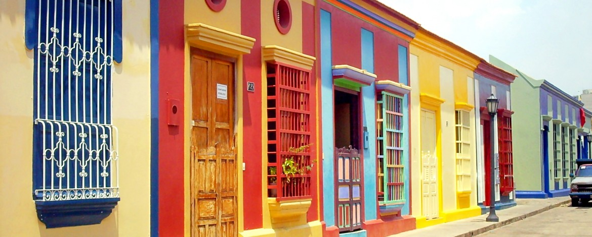 Carabobo street (colonial architecture in Maracaibo, Venezuela). Source: Wikipedia